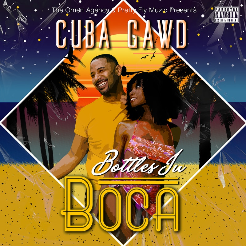 """Flexing his ability to be a triple threat rapper, actor, and overall influencer Cuba Gawd will take the world by storm this year on Cinco de Mayo; when he releases his highly anticipated single, """"BOTTLES IN BOCA"""", produced by Jirou Street. Known for Acting and Writing, he has been a natural storyteller since birth. Starring in the #1 Show on TVOne, ATL HOMICIDE (which airs internationally as HOMICIDE'S ELITE in 20+ countries), Angelo Diaz, p/k/a Cuba, had no intentions of pursuing music, not as an Artist anyway. Following in the likes of others like Will Smith, Method Man, or TIP Harris. Cuba has successfully transitioned from film and tv to music. As an executive. He co-owns Fly Muzic with 1st Place Fontaine and Franck Mille. Enter the business acumen of Black Nicholson from the Omen Agency. As a youth traversing the culturally rich slums of Miami, his creative instinct combined with his Afro-Cuban heritage, influenced his style and approach to his distinct sound. He has the fresh sound of Afro beats, mixed with Miami club dance infused with Caribbean soca rhythms. Like a perfect medley all mixed together; but each part having a distinct flavor. You can call him a neo renaissance man, he proves this, loving all things artistic. Not one to rest on his laurels on June 30, 2021 he stars in upcoming action thriller """"Zola"""", produced by the team that gave us the 5Oscar Nominated """"Moonlight"""". His eclectic background makes him relevant in many music genres. Cuba Gawd is the sound of the future."""